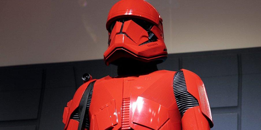 Посмотрите на униформу штурмовиков ситхов из «Звездных войн: Скайуокер. Восход»