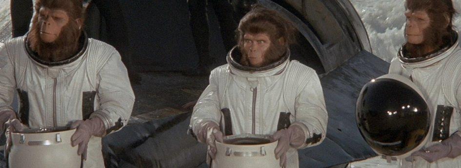 Кино: «Бегство с планеты обезьян»