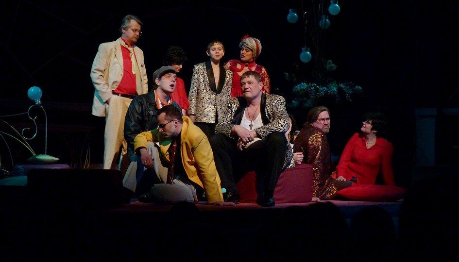 Театр: Хомо эректус, или Обмен женами