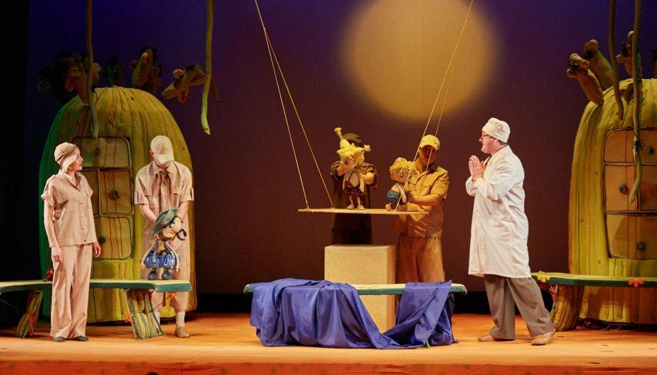 Театр: Сказки Корнея Чуковского, Новосибирск