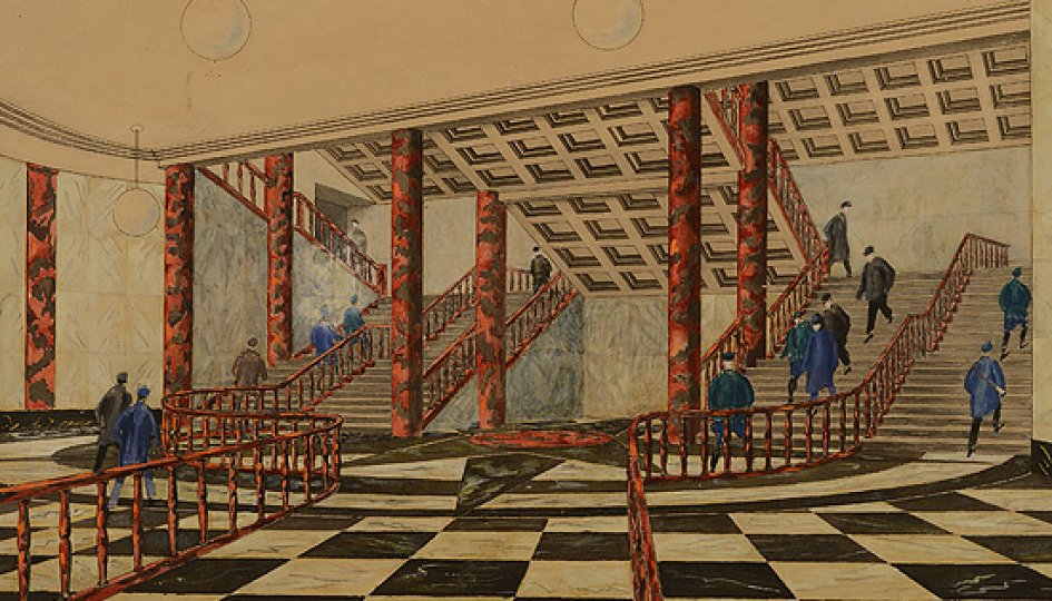 Выставки: Московское метро — подземный памятник архитектуры