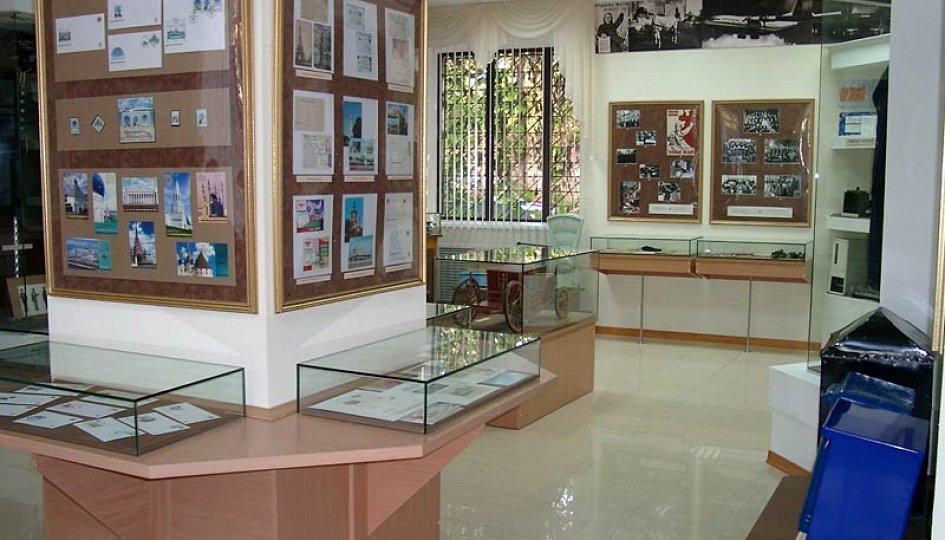 Выставки: Экспозиция в доме почты