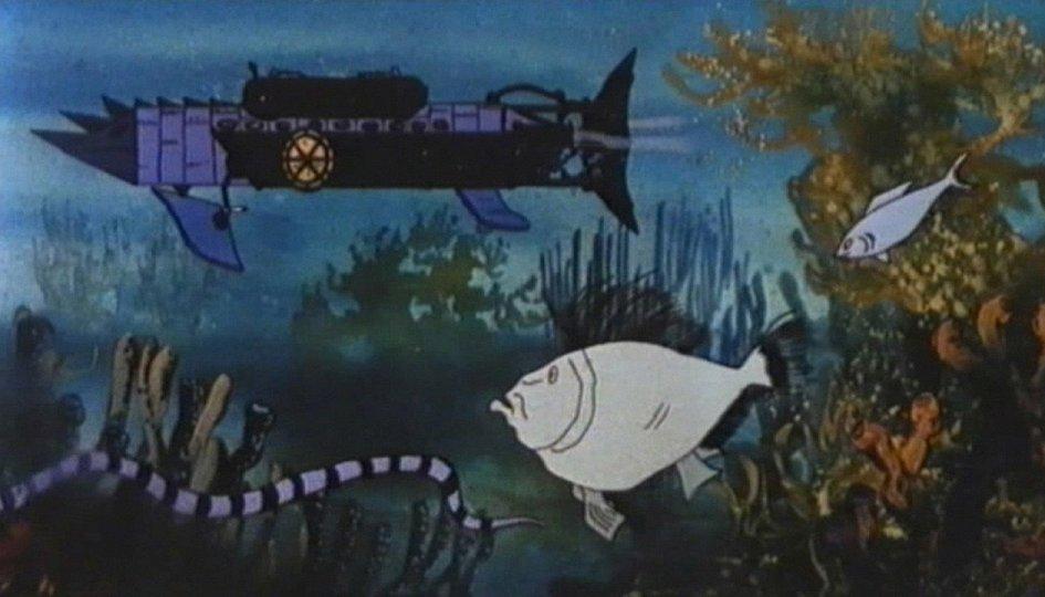 Кино: «20000 лье под водой»