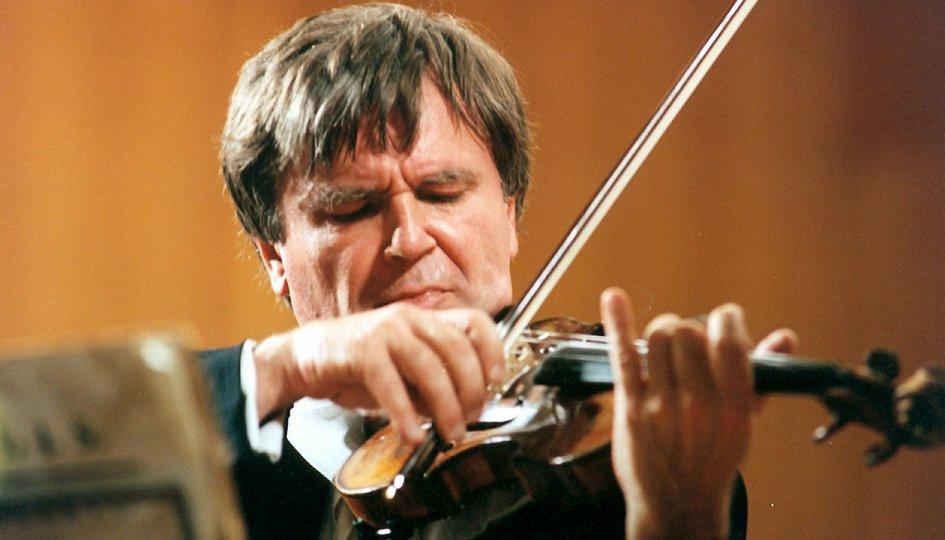 Концерты: Виктор Третьяков (скрипка, Москва), Наталья Лихопой (скрипка)