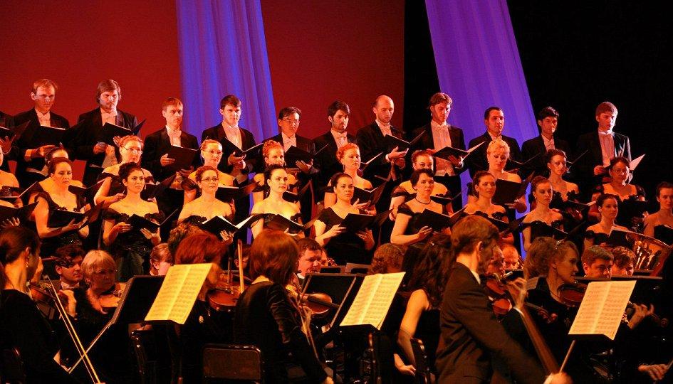 Концерты: Солисты оперы, хор и симфонический оркестр театра