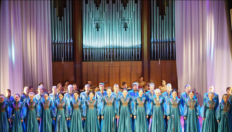 Концерты: «Эхо ушедшей эпохи»: Сибирский хор