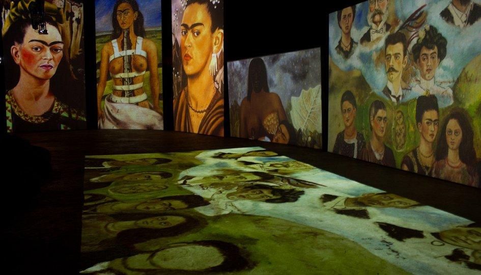 Выставки: Фрида Кало. Ожившие полотна