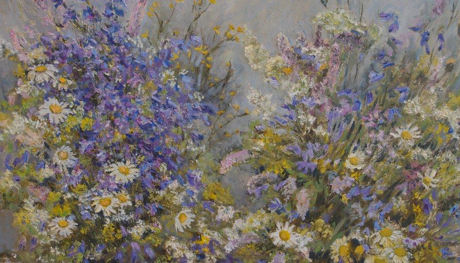 Выставки: Живописная поэма о цветах