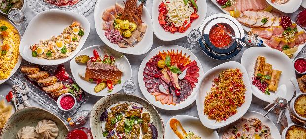 fitcher: Праздничные блюда в московских ресторанах