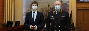 ВНижегородской области награждён Данила Небогатов, спасший женщину отвооружённого грабителя