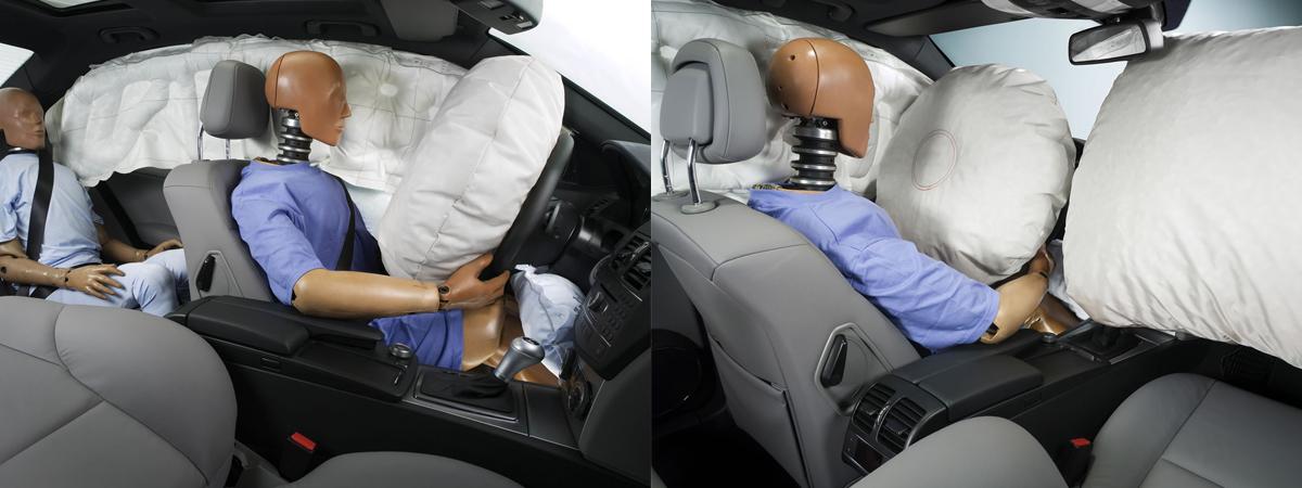 Подушку безопасности