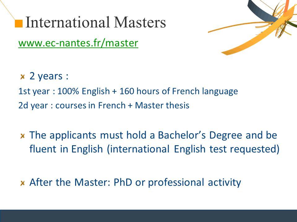 Master thesis zusammenfassung