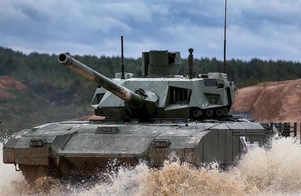 ВРоссии создадут танк-робот набазе «Арматы»