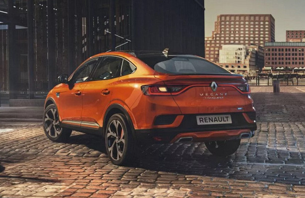 Renault Arkana встранах Восточной Европы будет называться Megane Conquest