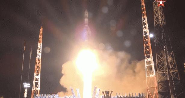 Двигатель ОДКобеспечил запуск ракеты «Союз-2.1в» скосмодрома Плесецк