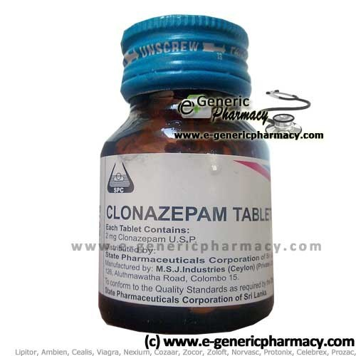 Clonazepam discount coupon