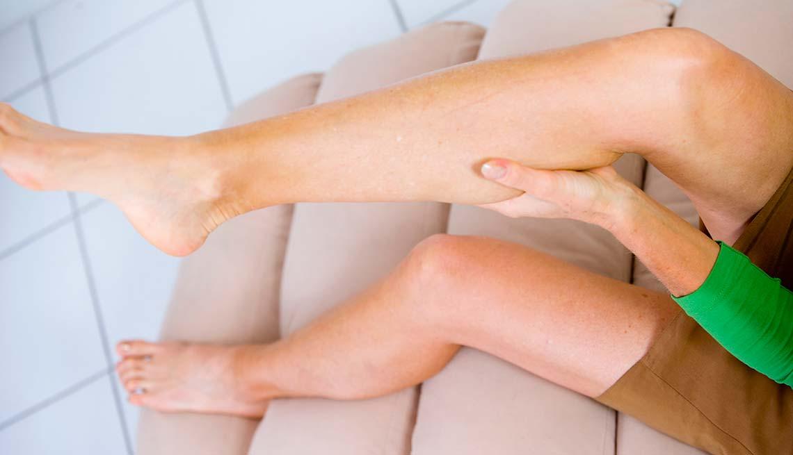 ночные судороги икроножных мышц снятие симптома функциям