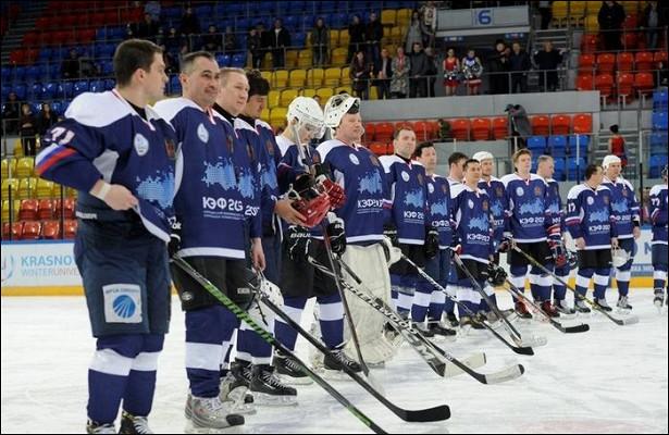 Красноярцев приглашают наматч сучастием звезд хоккея