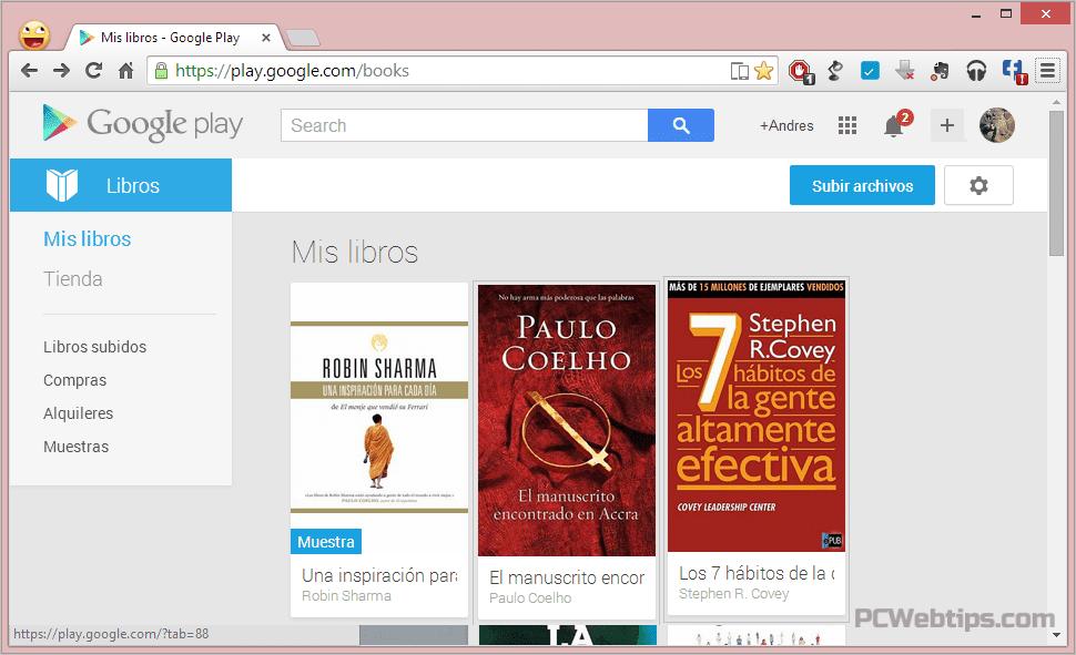 Google libros online