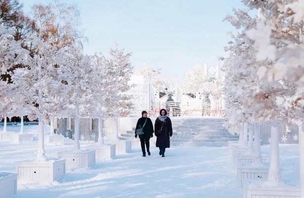 Сергей Собянин поделился кадрами столичного парка «Сокольники»