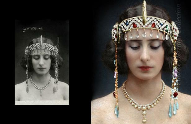 Анна Павлова идругие красавицы царской России вколоризированных архивных фото