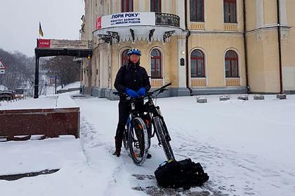 ВКиеве унидерландского дипломата угнали велосипед