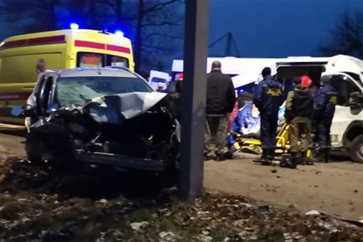Десять человек пострадали вДТПвТуле