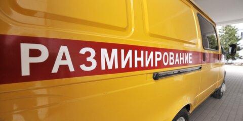 Взрывотехники обезвредили мину вПодмосковье