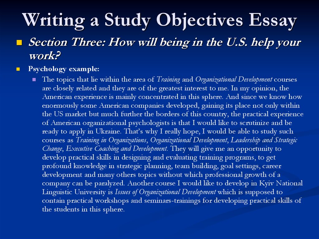 Write my leadership development essay