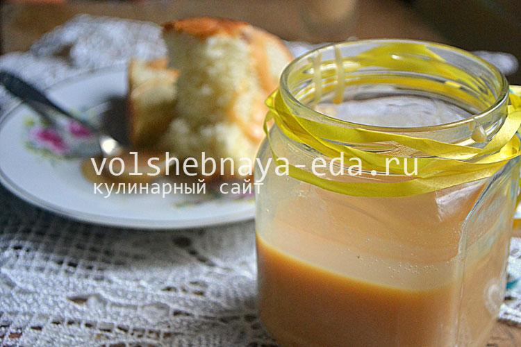 Домашняя сгущенка рецепт с фото