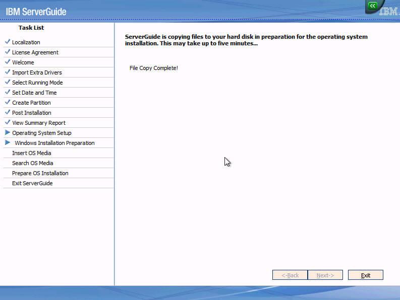 Using the ServerGuide Setup and Installation CD - IBM