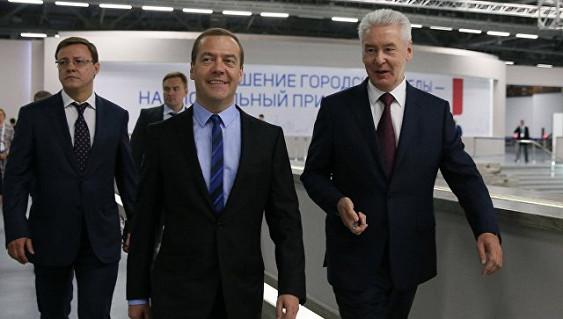 Медведев выступит нафоруме «Городское развитие исовершенствование качества городской среды»