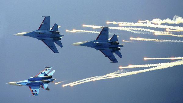 Как«Русские витязи» сбивали истребители США