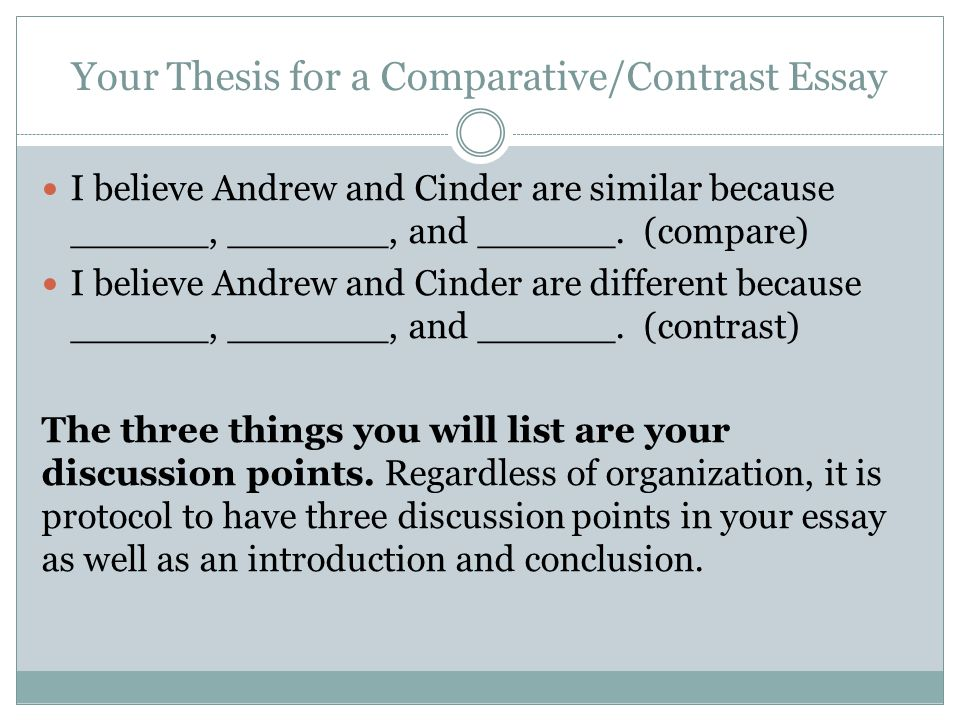 Write my comparing and contrasting essay