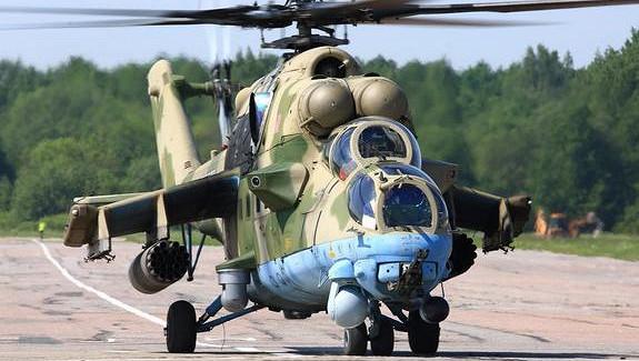 Ми-8припугнул «провокаторов» вСирии