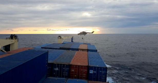 МИДТурции вызвал послов Италии иФРГиз-заситуации сдосмотром судна вСредиземном море