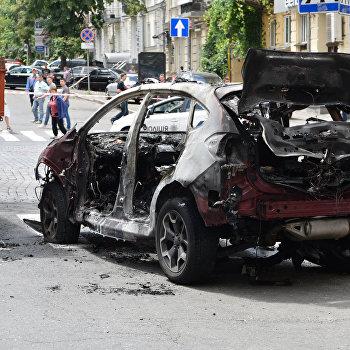 Взрывчатку подавтомобиль Шеремета подложила женщина— полиция