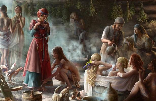 Какие запреты дляженщин действовали врусской бане