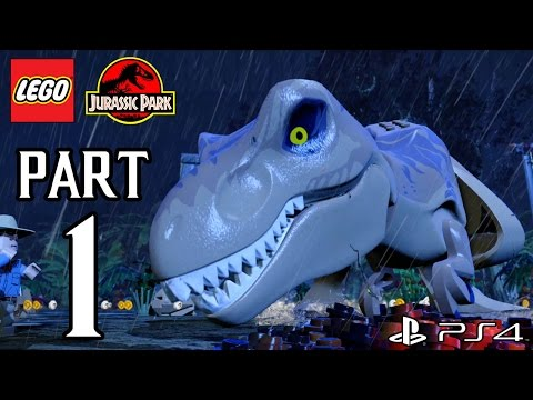 LEGO Jurassic World Walkthrough: Welcome To Jurassic