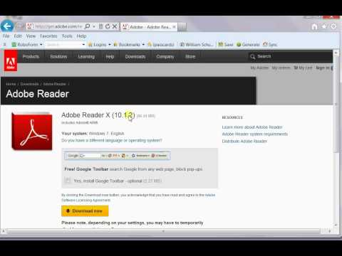 Adobe Acrobat Reader DC - Free download and