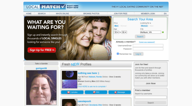 Free Online Dating Site - Services For Singles