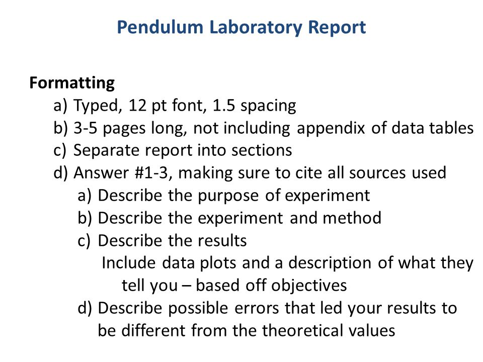 How to Write a Lab Report - Simply Psychology