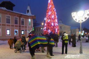 Архангельск готовится квстрече Нового года