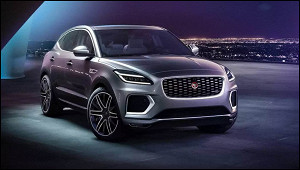 Jaguar назвал цену обновленного E-Pace дляРоссии