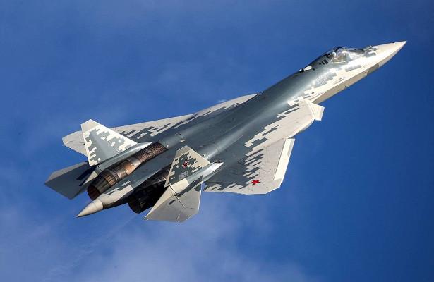 Истребитель Су-57назвали самолётом будущего вCША