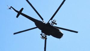 ВТатарстане упал вертолет