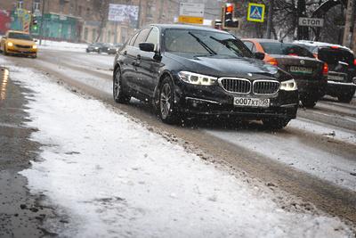 Подмосковным водителям посоветовали отказаться отдальних поездок всильный мороз