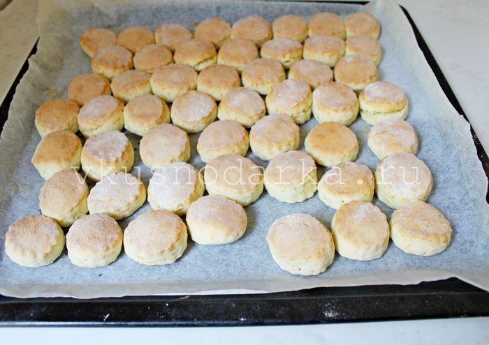 Печенье со сметаной рецепты с фото простые