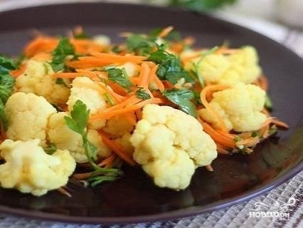 Маринованная цветная капуста рецепты быстро