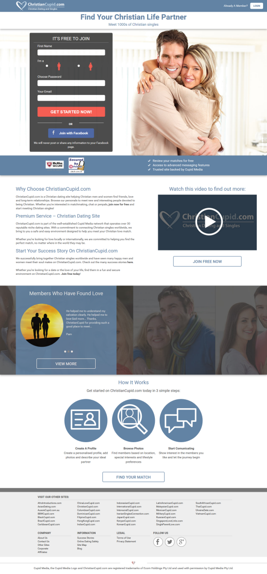 what are the most successful dating websites
